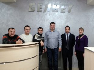 百卫公司在乌克兰的技术培训