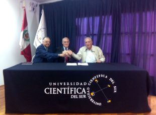 Scientific University of the South and Biovet, S.A. signed a cooperation agreement