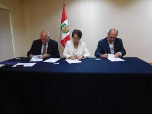 Agreement of cooperation between UCSUR and Biovet