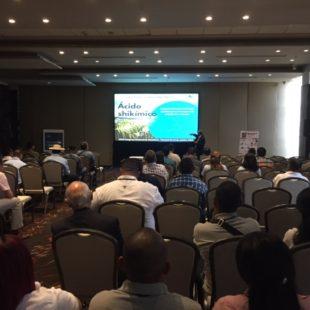 在由巴拿马全国家禽协会组织的家禽大会上,百卫公司介绍了前营养素。
