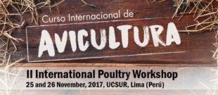 II Curso Internacional de Avicultura en Lima