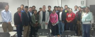 A technical team from Biovet presents a conference in Tacna (Peru)