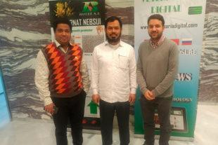 Visita del distribuidor de Bangladesh de Biovet a España