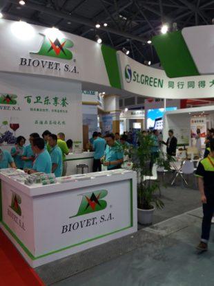 Biovet SA参加2018年中国畜牧业展会