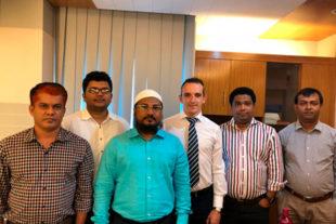 Un equipo técnico de Biovet S.A visita las principales empresas del sector avícola de Bangladesh