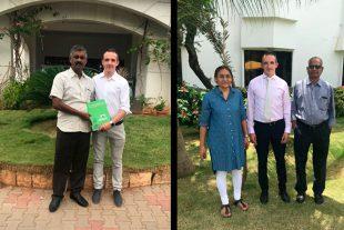 """Группа технической поддержки компании """"Biovet S.A."""" посетила Индию"""