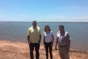 Команда технико-коммерческой поддержки «Biovet S.A.» посещает ферму креветок в Мексике