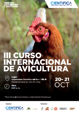 In october arrives the III International Poultry Course