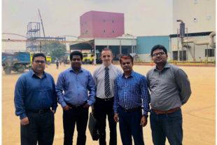 Un equipo técnico de Biovet S.A visitó Bangladesh a principios de octubre