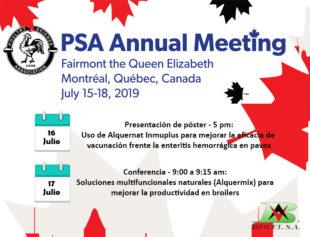 Biovet presentará ensayos de Alquernat Inmuplus y de la línea Alquermix en el PSA de Canadá