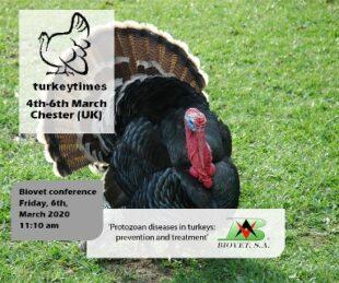 Conferencia sobre el uso de pronutrientes para prevenir enfermedades protozoarias en el Turkey Times