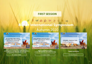 Alquernat Nebsui and Alquermold Natural lead the first session of the Biovet International Symposium