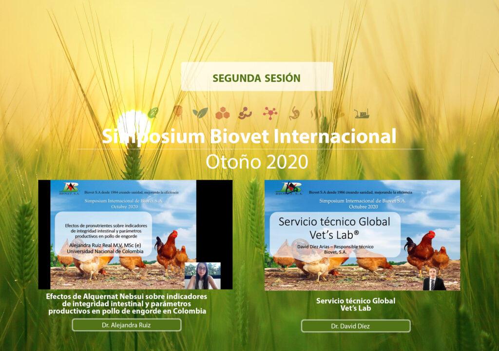 Los pronutrientes acondicionadores intestinales tema central en la segunda sesión del XXXIII Simposium Internacional de Biovet