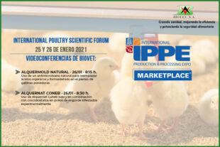 Biovet presentará los resultados de dos ensayos sobre conservantes naturales y pronutrientes en el IPSF