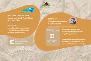 En julio y agosto participamos en la reunión anual de ASAS y AAAP