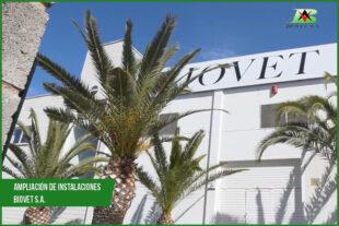 Ampliación de instalaciones en Biovet S.A.