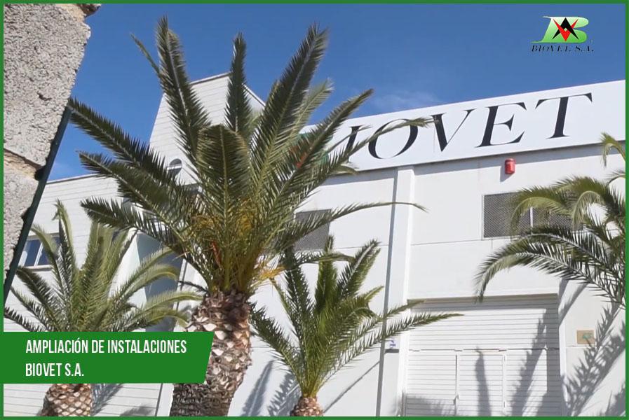 ampliacion de instalaciones Biovet S.A.