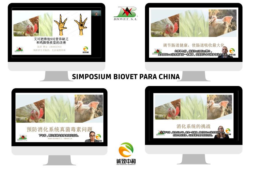 Bienestar intestinal en granjas avícolas y porcícolas, tema central en el Simposium Internacional para China